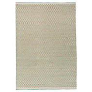 Colours April Tonal Beige & turquoise Rug (L)1.7m (W)1.2m
