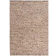 Colours Darcey Plain Natural Rug (L)1.7m (W)1.2m