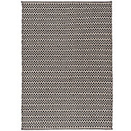 Colours Astrid Geometric Black & white Rug (L)1.7m (W)1.2m