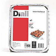Diall Charcoal Disposable Barbecue