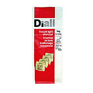 Diall Instant light charcoal 5kg Pack