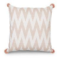 Chevron Blush pink Cushion