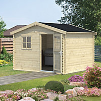 Blooma Belaïa 10x9 Apex Tongue & groove Wooden Shed