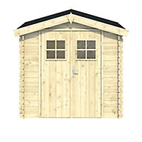Blooma Mokau 6x5 Apex Tongue & groove Wooden Shed