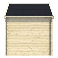 Blooma Mokau 8x6 Apex Tongue & groove Wooden Shed