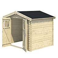 Blooma Mokau 7x6 Apex Tongue & groove Wooden Shed