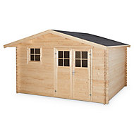 12x9 TAMAN Apex roof Tongue & groove Wooden Shed with floor