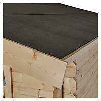 12x12 TAMAN Apex roof Tongue & groove Wooden Shed with floor