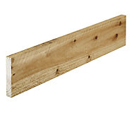 Sawn Timber (L)1.8m (W)125mm (T)22mm, Pack of 8