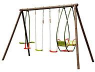 Burinka Wooden Swing set