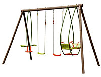Burinka Wooden Swing set