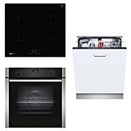 Neff Single Oven, induction hob & dishwasher Pack