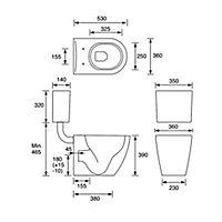 Cooke & Lewis Marletti Bathroom kit