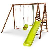 Lugano Wooden Swing set