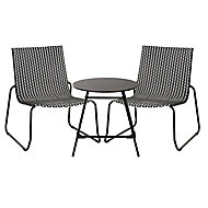 Morillo Metal 2 seater Table & chair set