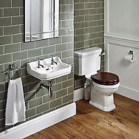 Ideal Standard Waverley D-shaped Wall-mounted Cloakroom Basin