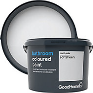 GoodHome Bathroom North pole Soft sheen Emulsion paint 2.5