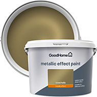 GoodHome Feature wall Coachella Metallic effect Emulsion paint 2L