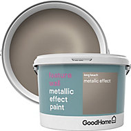 GoodHome Feature wall Long beach Metallic effect Emulsion paint, 2L