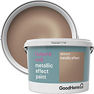 GoodHome Feature wall Santa cruz Metallic effect Emulsion paint, 2L