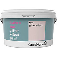GoodHome Feature wall Kyoto Glitter effect Emulsion paint, 2L