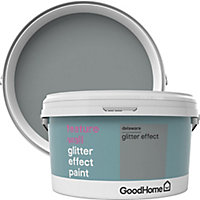 GoodHome Feature wall Delaware Glitter effect Emulsion paint, 2L
