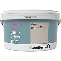 GoodHome Feature wall Tijuana Glitter effect Emulsion paint, 2L
