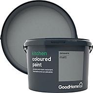 GoodHome Kitchen Delaware Matt Emulsion paint, 2.5L