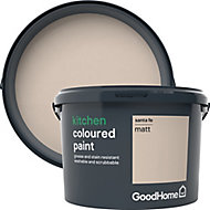 GoodHome Kitchen Santa fe Matt Emulsion paint, 2.5L