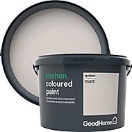 GoodHome Kitchen Quebec Matt Emulsion paint, 2.5L