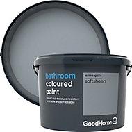 GoodHome Bathroom Minneapolis Soft sheen Emulsion paint, 2.5L