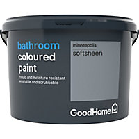 GoodHome Bathroom Minneapolis Soft sheen Emulsion paint 2.5L