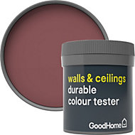 GoodHome Durable Kensington Matt Emulsion paint 0.05L Tester pot
