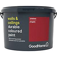 GoodHome Durable Chelsea Matt Emulsion paint, 2.5L