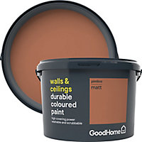 GoodHome Durable Pimlico Matt Emulsion paint, 2.5L