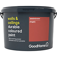 GoodHome Durable Westminster Matt Emulsion paint 2.5L