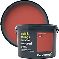 GoodHome Durable Westminster Matt Emulsion paint, 2.5L