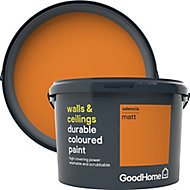 GoodHome Durable Valencia Matt Emulsion paint, 2.5L