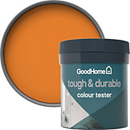 GoodHome Durable Valencia Matt Emulsion paint 0.05L Tester pot
