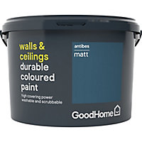 GoodHome Durable Antibes Matt Emulsion paint, 2.5L
