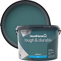 GoodHome Durable Milltown Matt Emulsion paint 2.5L