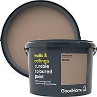 GoodHome Durable Mendoza Matt Emulsion paint, 2.5L