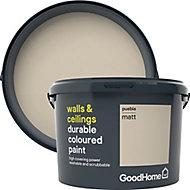 GoodHome Durable Puebla Matt Emulsion paint, 2.5L