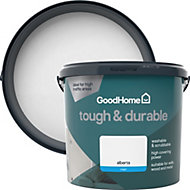 GoodHome Durable Alberta Matt Emulsion paint 5L