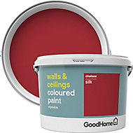 GoodHome Walls & ceilings Chelsea Silk Emulsion paint, 2.5L
