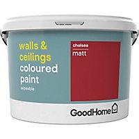GoodHome Walls & ceilings Chelsea Matt Emulsion paint, 2.5L