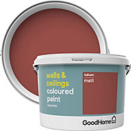 GoodHome Walls & ceilings Fulham Matt Emulsion paint, 2.5L