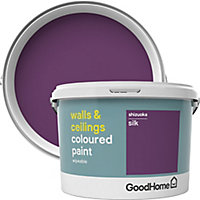 GoodHome Walls & ceilings Shizuoka Silk Emulsion paint, 2.5L