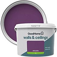 GoodHome Walls & ceilings Shizuoka Silk Emulsion paint 2.5L
