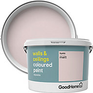GoodHome Walls & ceilings Kyoto Matt Emulsion paint, 2.5L